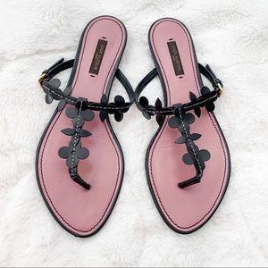 Louis Vuitton sandals - size 38 -